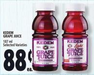 Kedem Grape Juice