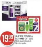 Olay Age Defying or Glysomed Gift Sets