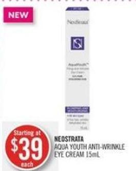 Neostrata Aqua Youth Anti-wrinkle Eye Cream