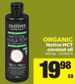 Nutiva Mct Coconut Oil - 473 Ml