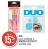 Duo Lash Adhesive or Revlon Implements