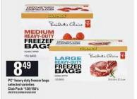 PC Heavy Duty Freezer Bags - 120/150's