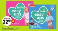 Pampers Easy Ups 56-66 Pk