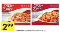 Smart Ones Entrées Selected 255-283 g