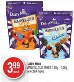 Dairy Milk Marvellous Mixes