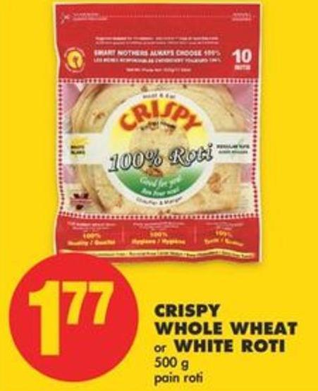 Crispy Whole Wheat Or White Roti 500 G