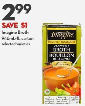 Imagine Broth 946ml-1l Carton