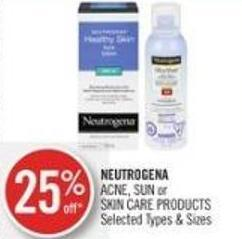 Neutrogena Acne - Sun or Skin Care Products