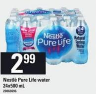 Nestlé Pure Life Water - 24x500 mL