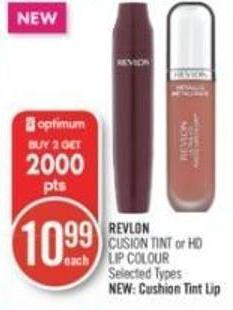 Revlon Cusion Tint or Hd Lip Colour