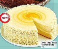 Front Street Bakery Creamsicle Cake