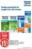 Prospan By Helixia Cough Syrup (100ml - 200ml) or Rhinaris Nasal Care Products