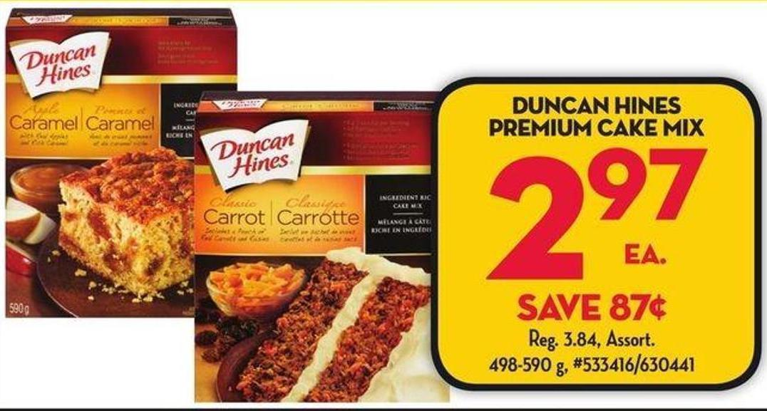 Duncan Hines Caramel Cake Mix For Sale