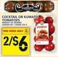 Cocktail Or Kumato Tomatoes