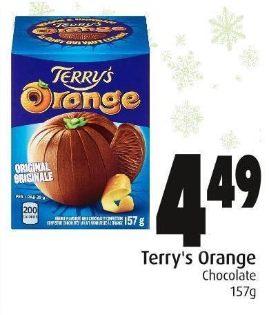 Terry's Orange Chocolate 157g