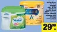 Enfamil A+ - 550-730 G - Similac Non-gmo - 638/658 G Or Nestlé Good Start 600/660 G - Infant Formula Powder With Omega