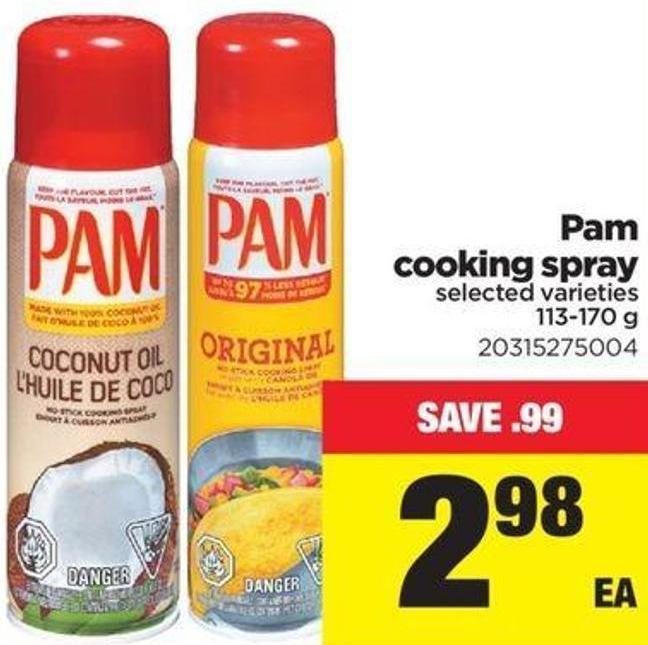 Pam Cooking Spray - 113-170 g