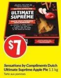 Sensations By Compliments Dutch Ultimate Supreme Apple Pie 1.1 Kg