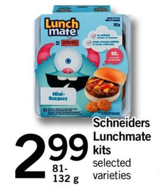 Schneiders Lunchmate Kits - 81- 132 G