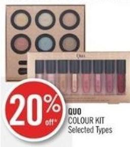 Quo Colour Kit