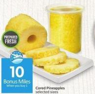 Cored Pineapples - 10 Air Miles Bonus Miles