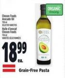 Chosen Foods Avocado Oil 750 ml