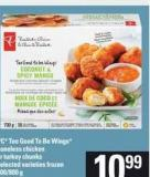 PC World Of Flavours Buffalo Split Chicken Wings Or Greek Whole Flattened Chicken