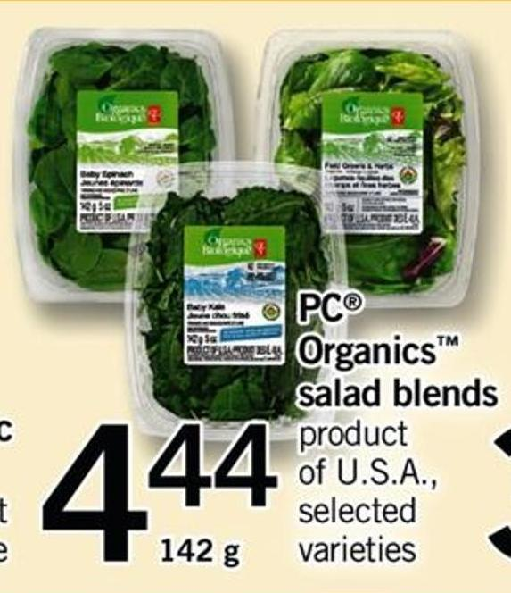 PC Organics Salad Blends - 142 g