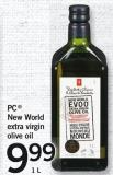 PC New World Extra Virgin Olive Oil - 1l