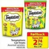 Temptations Cat Treats