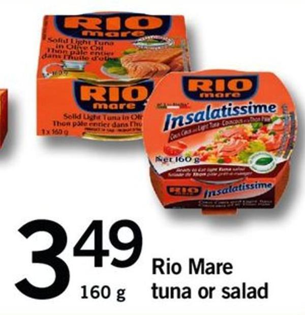 Rio Mare Tuna Or Salad
