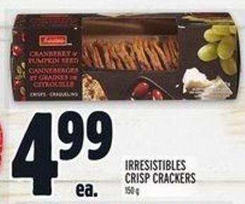Irresistibles Crisp Crackers