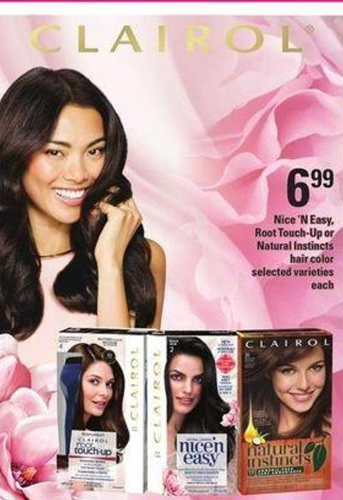 Nice 'N Easy - Root Touch-up Or Natural Instincts Hair Color