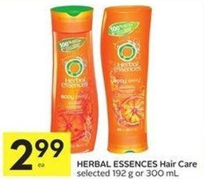 Herbal Essences Hair Care Selected 192 g or 300 mL