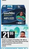 Pampers Or Huggies - 12/13x Wipes - 768-864's Or Similac Go & Grow Step 3 - 830 g - Big Pack Pull-ups - 50-54's Or Goodnites Underwear - 24-32's