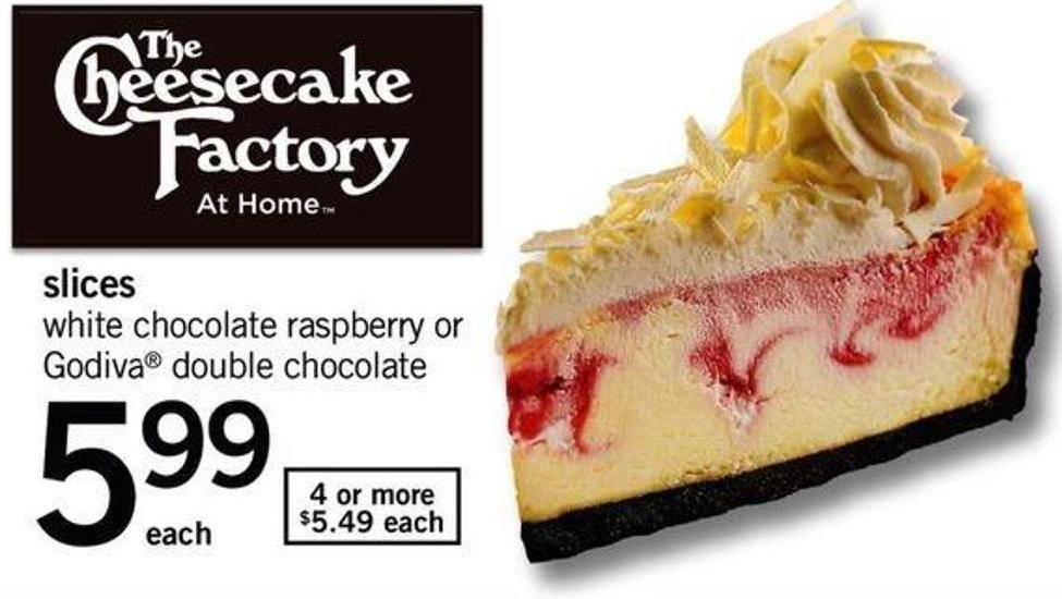 The Cheesecake Factory Slices