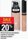 Revlon Colorstay Foundation - Powder Or Concealer