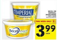Becel Or Imperial Margarine