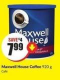 Maxwell House Coffee 920 g