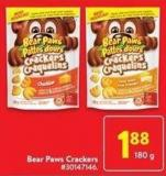 Bear Paws Crackers 180 g