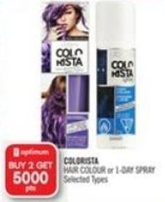 Colorista Hair Colour or 1-day Spray