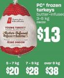 PC Frozen Turkey - Over 9 Kg