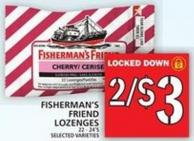 Fisherman's Friend Lozenges