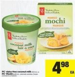 PC Dairy-free Coconut Milk - 500 Ml Or PC Mochi - 6x35 Ml