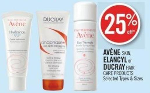 Avène Skin - Elancyl or Ducray Hair Care Products
