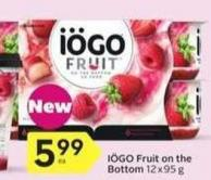 Iögo Fruit On The Bottom - 25% Air Miles Bonus Miles