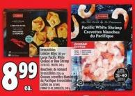 Irresistibles Lobster Bites 283 g or Large Pacific White Cooked Or Raw Shrimp 31/40 Size - Frozen - 340 g