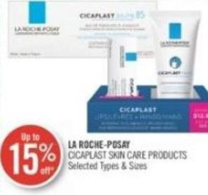 La Roche-posay Cicaplast Skin Care Products