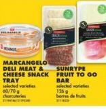 Marcangelo Deli Meat & Cheese Snack Tray - 60/70 g