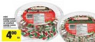Mini Peppermint Candy Canes Or Crushed Candy Canes - 300/400 g